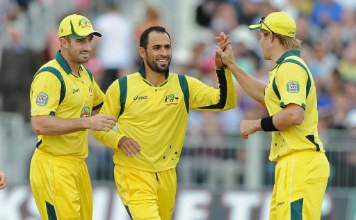 No Beer Logo on Cricket Shirt for Muslim Fawad Ahmed