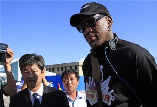 Rodman in North Korea to Visit His 'Friend' Kim