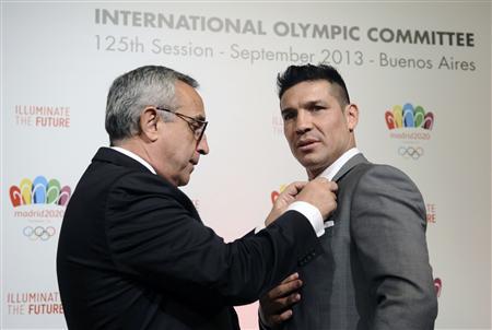Argentine Boxing Champion Pushes Madrid Olympics