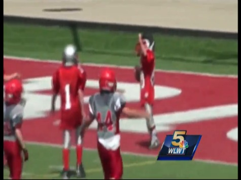9-Year-Old With Half a Heart Scores Touchdown