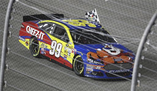 Edwards Wins Race, Defending Champ Keselowski Misses Chase