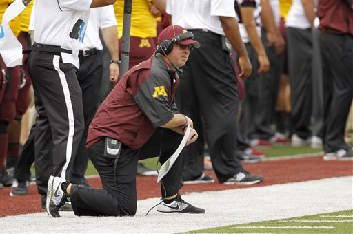 Epileptic Minnesota Coach Carted Off at Halftime
