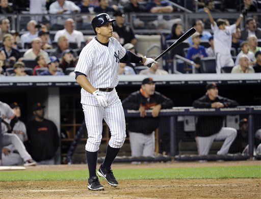 A-Rod Breaks Gehrig's Grand Slam Record*