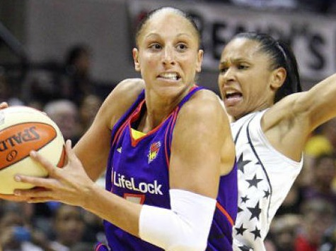 WNBA Player Taurasi Gets Foul for Kissing Opponent After Scuffle