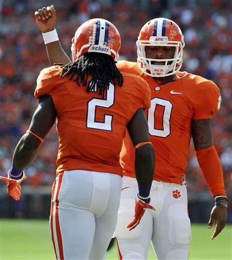 No. 3 Clemson Routs Wake Forest