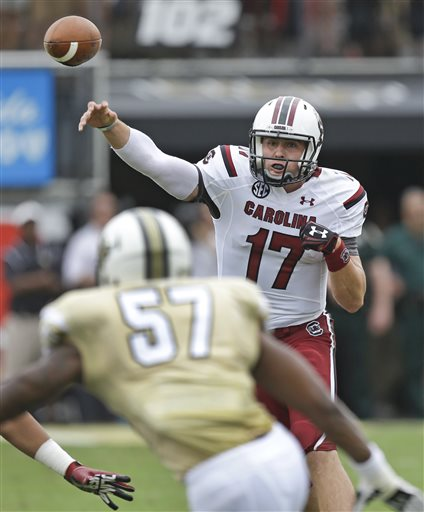 No. 12 Gamecocks Survive Against UCF After QB Leaves with Injury