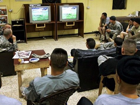 Shutdown Politics: U.S. Troops Overseas Unable to Watch NFL, MLB Games While Camp David Open