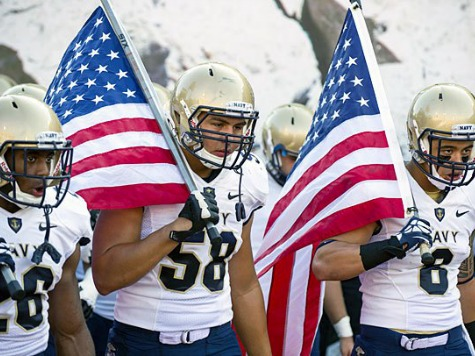 Defense Dept. Official: Service Academies Will Play College Football Games This Weekend