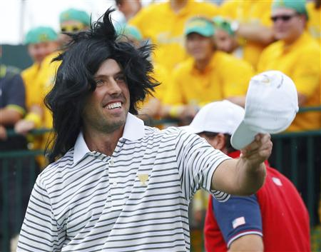 Wig Wearing South Africans Win at Presidents Cup
