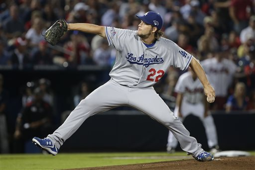 Dominant Kershaw Leads Dodgers to NLDS Game 1 Win over Braves