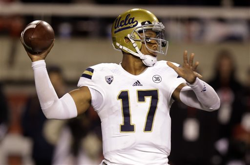 UCLA QB Leads Bruins to Win over Utah with Rushing, Passing, Receiving TDs