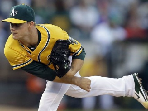 Athletics Rookie Gray Shuts Out Tigers for 8, A's Win in 9th 1-0