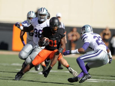 #21 Oklahoma State Cowboys Survives Scare From Kansas State Wildcats