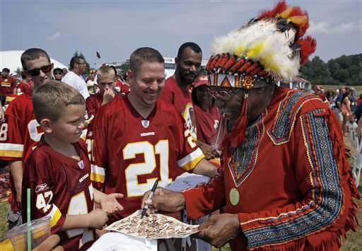 Redskins Start Charity for Native Americans; Critics of Nickname Jeer Effort