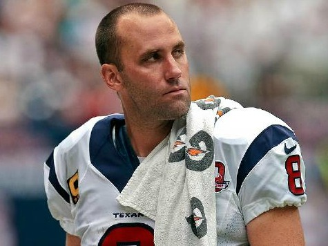 Report: Angry Fans Confront Texans' QB Matt Schaub and Family at his Home