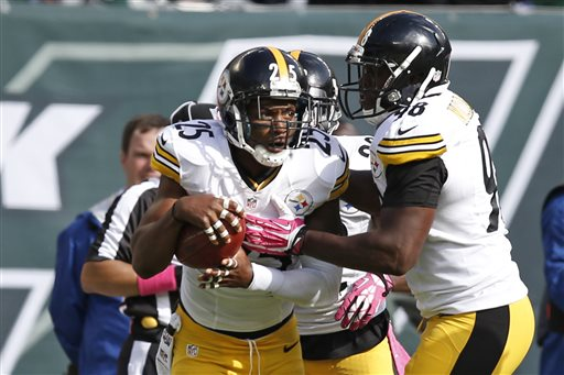 Steelers Get 1st Win, Beat Jets 19-6