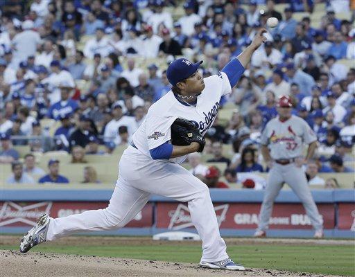 Ryu-Puig Rookie Duo Helps Dodgers Win Game 3 over Cards