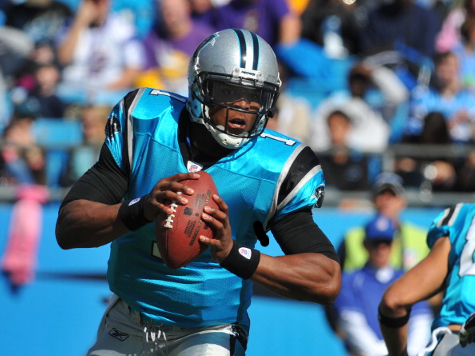 Newton Hits 15 of 17 Passes to Lead Panthers Past Rams