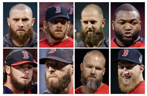 Band of Bearded Brothers Leads Red Sox to Series