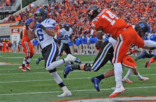 Duke Stuns No. 16 Hokies, First Road Win vs. Ranked Team Since '71