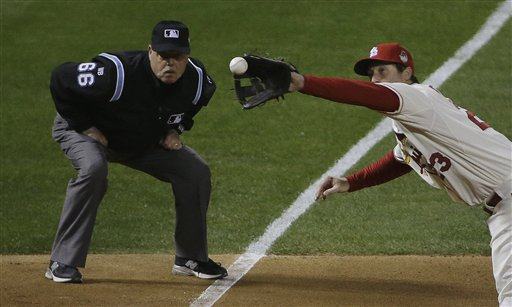 Umpire: Made Call 'Immediately and Instinctually'