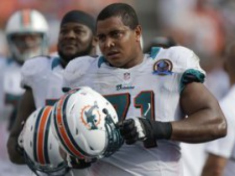 Report: Dolphins Lineman Went to Hospital for Emotional Distress