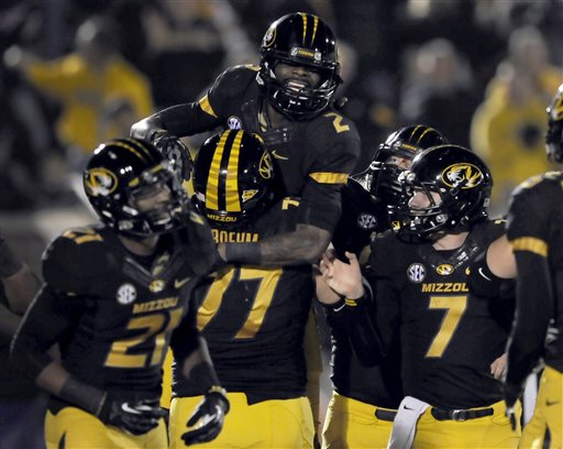 No. 10 Missouri Whips Tennessee 31-3