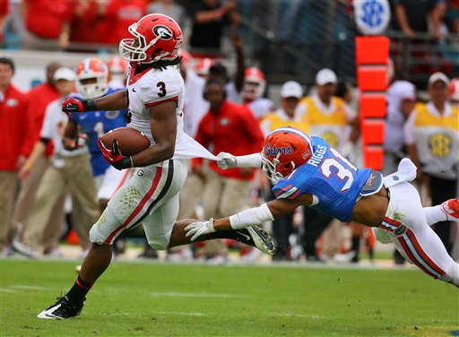 Georgia Edges Rival Florida 23-20