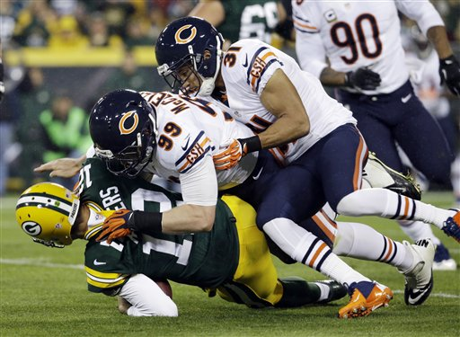 Chicago Fan Uses Taser on Wife to Settle Bet After Bears Beat Packers