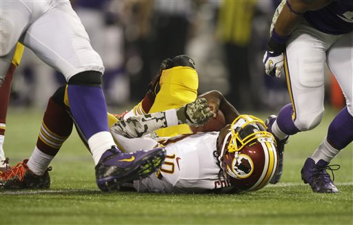 Redskins Can't Hold Lead Against Lowly Vikings