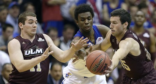 Wiggins Scores 16 in Debut to Lead No. 5 Jayhawks to Win over ULM