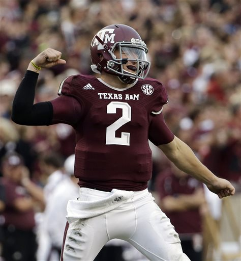 Manziel Wins Last Game at Kyle Field