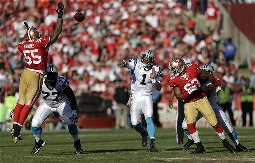 Panthers Beat Niners After San Franciso Loses Key Players to Injury