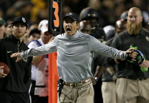 Report: Baylor Coach Art Briles Gets New 10-year Deal