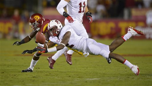 No. 5 Stanford Loses to USC with Jonathan Martin on Sidelines