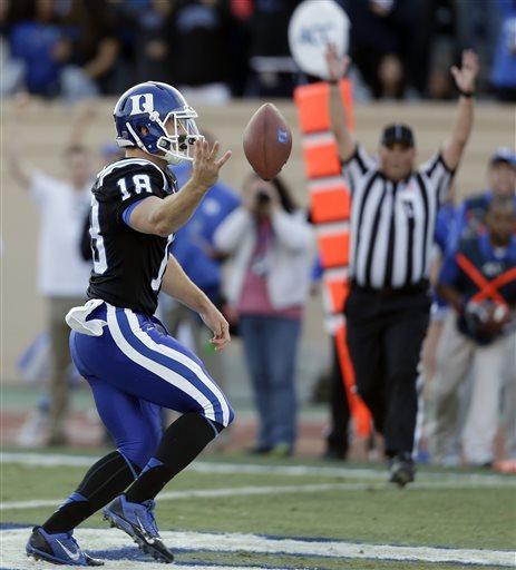 Duke Upsets No. 24 Miami–in football