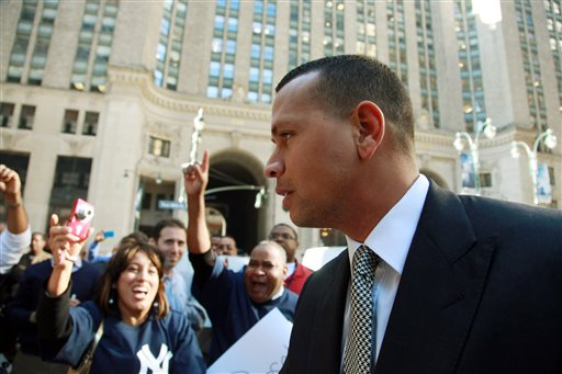 A-Rod Back at MLB for Grievance Hearing