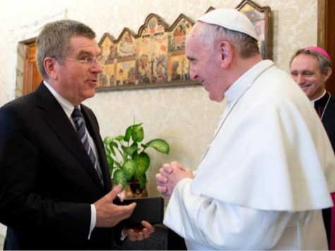 Pope Francis Receives Highest Olympic Order