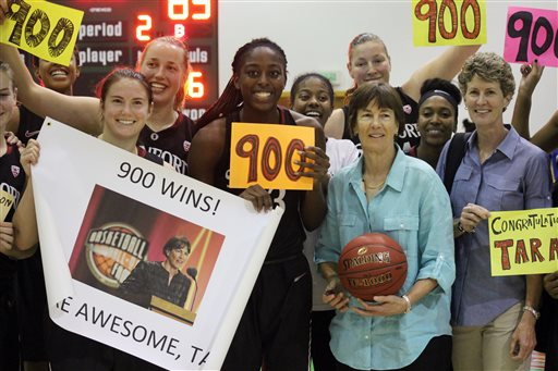 Stanford's VanDerveer Fifth Women's Coach with 900 Wins