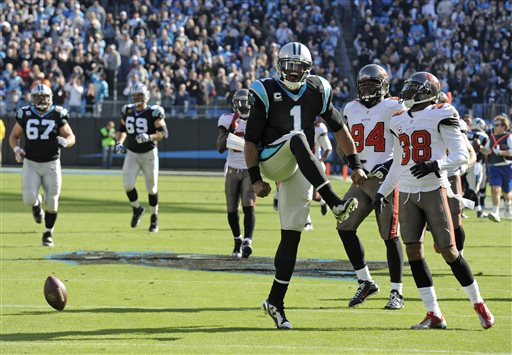 War Eagle: Cam Newton, Panthers Win 8th Straight