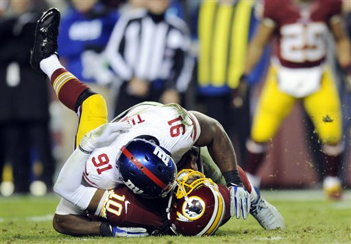 NFL: Officials Erred at End of Sunday Night Game