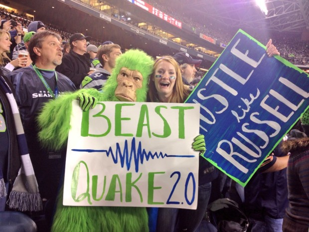 Seattle Fans Set Noise Record, Register Magnitude 1 or 2 Earthquake