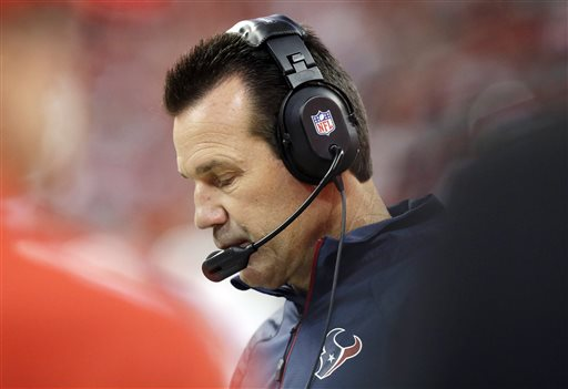Texans Fire Coach Gary Kubiak