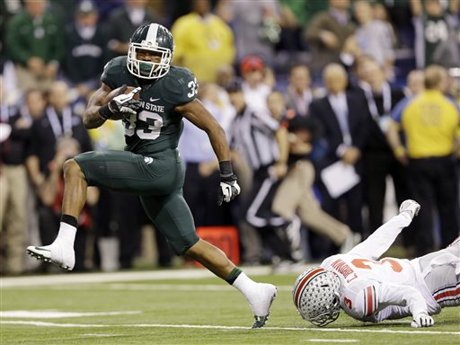 Big Ten Champs: Michigan St. Knocks Ohio St Out of BCS Title Game, Headed to Rose Bowl