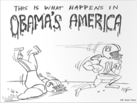 Alabama Student Paper Caves, Apologizes for 'Racist' Iron Bowl Cartoon