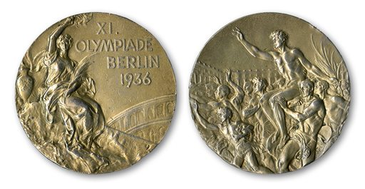 Owens' Olympic Gold Medal Sells for Record $1.4M