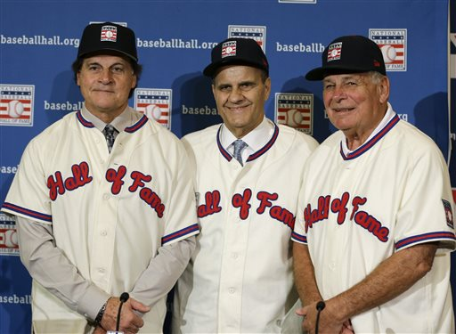 Managers Torre, La Russa, Cox Elected to Baseball Hall of Fame