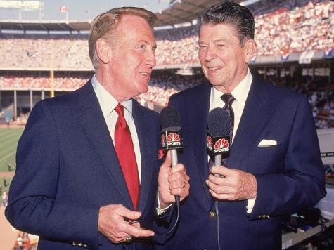 Rose Parade Grand Marshal Vin Scully Recalls Attending Reagan's First Inaugural