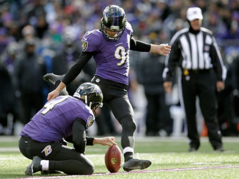 Ravens Kicker: I Can Make 70-Yard Field Goals