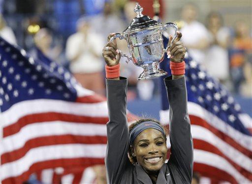 Serena Williams AP Female Athlete of Year